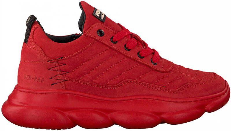 Red Rag Red Rag 13333 Heren Lage Schoenenjongens Kleur Rood Maat 31 Schoenen Nl