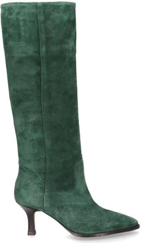 Elizabeth Stuart Limoen groen suede laarzen Mt 38 | NEW