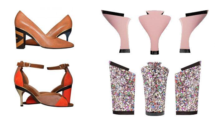Tanya Heath schoenen met verwisselbare hak