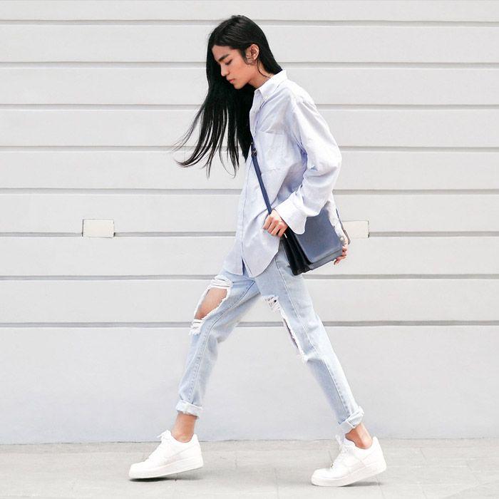 witte schoenen wit houden