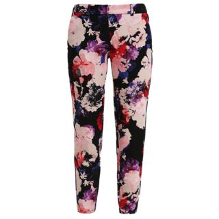 Pantalon bloemenprint