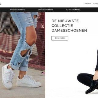 Homepage Schoenen.nl